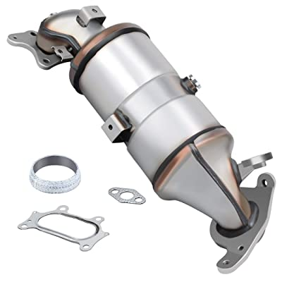 Catalytic Converter for 2006-2011 Honda Civic 1.8L L4 Direct-Fit High Flow Series (EPA Compliant): Automotive