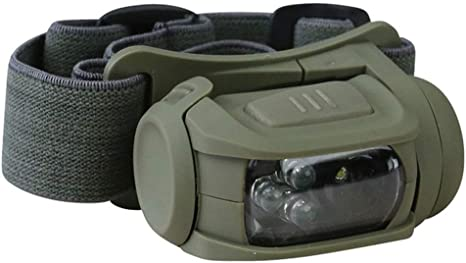 TACTICAL PREDATOR HEADLAMP II LED HEAD TORCH WHITE RED LIGHT CADET ARMY