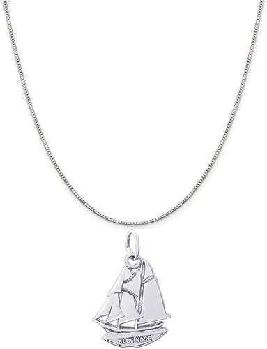 Blue Nose Charms for Bracelets and Necklaces Nova Scotia Charm