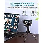 Unzano Full HD Webcam with Facial-Enhancement