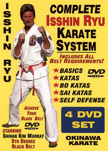 Complete Okinawa Isshin Ryu Karate System, Starring Shihan Kim Murray 8th Degree Black Belt! Self-Defense, Katas, Weapons! Achieve Your Black Belt...Home Study! by www.shogunmedia.com