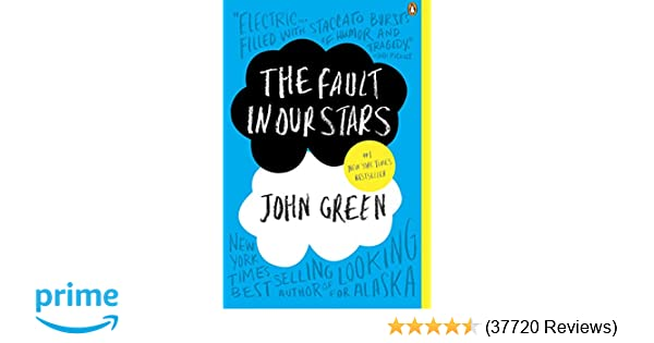 f640c33b8 Amazon.com: The Fault in Our Stars (8601402233168): John Green: Books