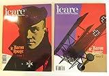Icare Revue de L'Aviation Francaise (Magazine) No. 139 & No. 142: Le Baron Rouge Tome 1 & 2 (The Red Baron, Manfred von Richthofen, Parts One and Two)