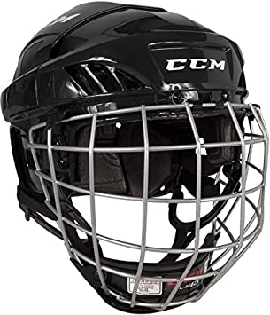 a9c913c73ae Amazon.com   CCM FitLite 40 Hockey Helmet Combo