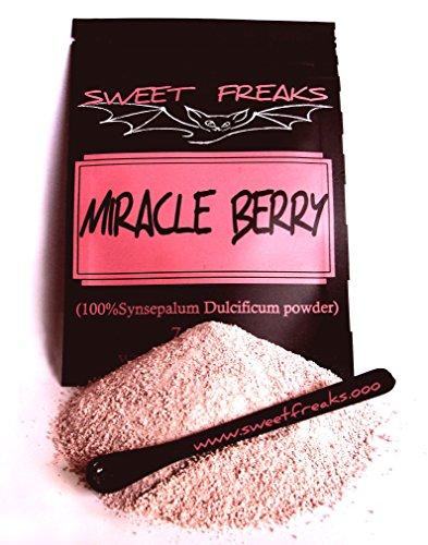(100% Organic Miracle Berry (Synsepalum Dulcificum))