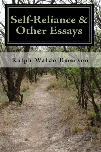 Download Selfreliance  Other Essays By Ralph Waldo Emerson  Download Selfreliance  Other Essays By Ralph Waldo Emerson Download Pdf  Or Read Idqqdqy