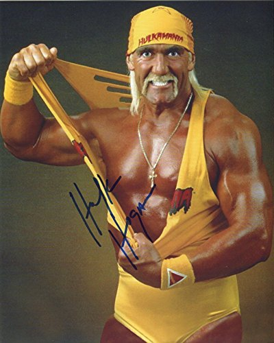 Hulk Hogan Signed / Autographed 8x10 Glossy Photo. Includes Fanexpo Certificate of Authenticity and Proof of signing. Entertainment Autograph Original. Thor, Iron Man, Hulk, Wasp, Ant Man