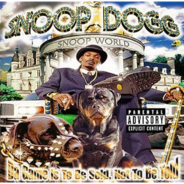 Game Is To Be Sold Not To Be Told Snoop Dogg Amazon Ca Music