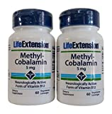Life Extension – Methylcobalamin 5mg 60 lozenges (Pack of 2) Review