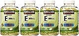 Kirkland Signature, Vitamin E 400 IU brdqt 500 Softgels (Pack of 4)