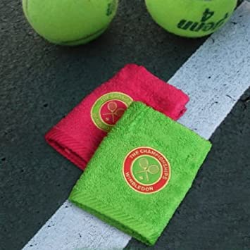 Christy toallas de mano de Wimbledon señoras – Pack de 2 – Apple y bayas –