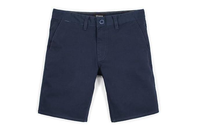 Brixton Pantalones Cortos Informales para Hombre 7cW4W
