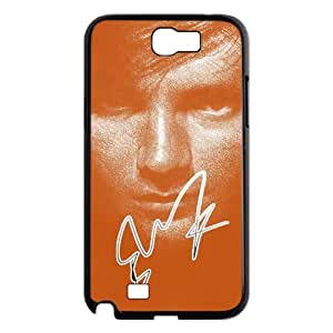 Luckhappy store Hot singer ed sheeran Black Plastic case for Samsung Galaxy Note 2 N7100