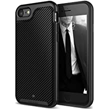 Caseology Envoy Series iPhone 7 / 8 Cover Case with Leather Slim Protective for Apple iPhone 7 (2016) / iPhone 8 (2017) - Matte Black