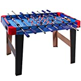 36'' Foosball Soccer Table Kick-Off Football Table Indoor Arcade Room Competition Sports Game Kids Children Holiday Season Birthday Christmas Gift Wooden Construction Strong Steel Rods