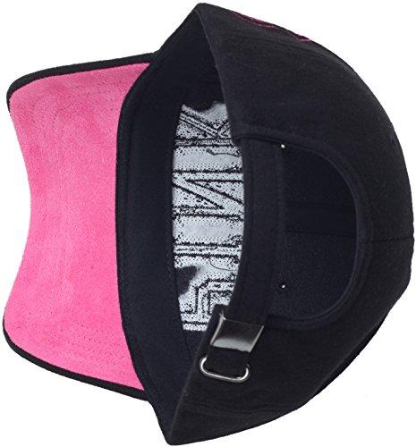 050d63db8f RaOn B52 Women Girl Color Cute Style Cotton Leopard Pink Mark Ball Cap  Baseball Hat Truckers (Black) - 1 < Baseball Caps < Clothing, Shoes &  Jewelry - tibs