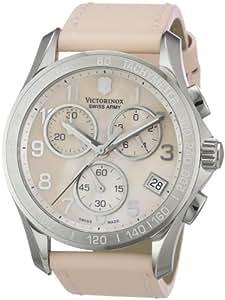 Victorinox Swiss Army Women's 241419 Chrono Classic Chronograph Pink Dial Watch