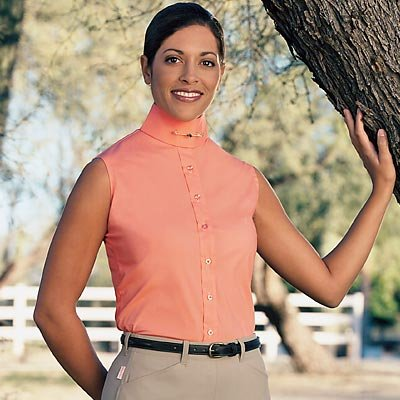 Devon Aire Ladies Sleeves Stretch Shirt