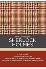 The Complete Sherlock Holmes: Works include: The Hound of the Baskervilles; A Study in Scarlet; The Adventures of Sherlock Holmes; The Memoirs of ... of Sherlock Holmes (Chartwell Classics) Hardcover