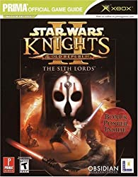 Star Wars Knights of the Old Republic II: The Sith Lords - DVD Enhanced: Prima's Official Game Guide (Prima Official Game Guides)