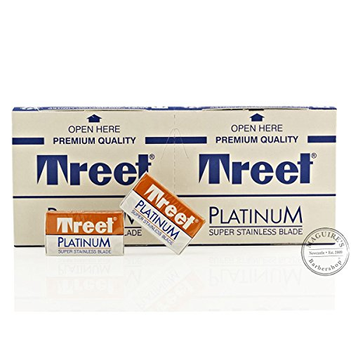 Treet Corporation Ltd Treet Platinum Super Stainless Double Edge Razorblades