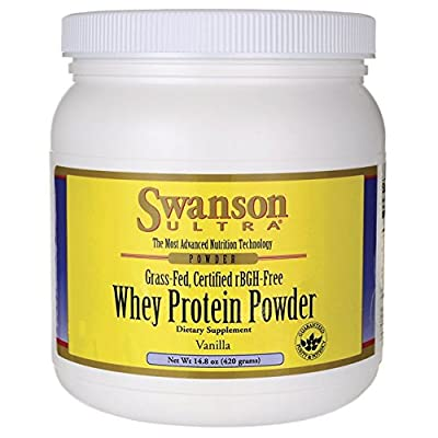 Whey Protein Powder Vanilla 420 grams (14.8 oz) Pwdr