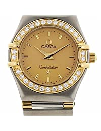 Omega Constellation quartz womens Watch 895.1203 (Certified Pre-owned)