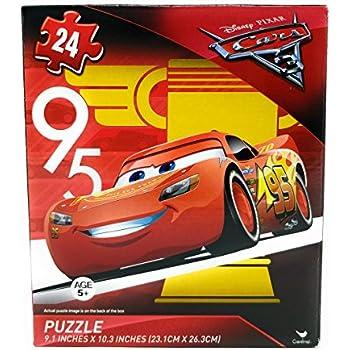 disney pixar cars 3 lightning mcqueen 24 piece puzzle v6 toys games. Black Bedroom Furniture Sets. Home Design Ideas