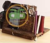valet tray iphone 6 plus - abhandicrafts Universal Wood Tabletop watch Case and Dresser Valet Tray and Docking charging station