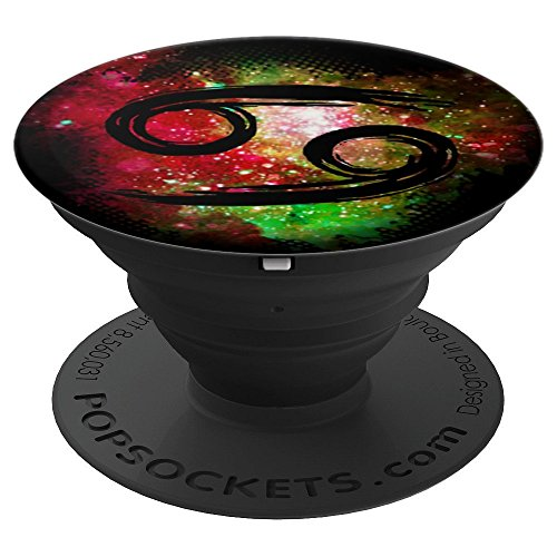 Sign Zodiac Horoscope Cancer (Cancer Sign Astrology Zodiac Calendar Horoscope - PopSockets Grip and Stand for Phones and Tablets)