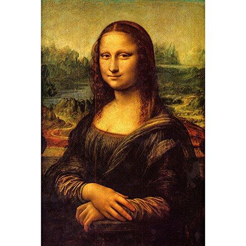 Mona Lisa Smile Painting - zhui star DIY Full Drill Round Diamond Painting Cross Stitch Kits Gift The Smile of Mona Lisa Home Decoration 30x45CM