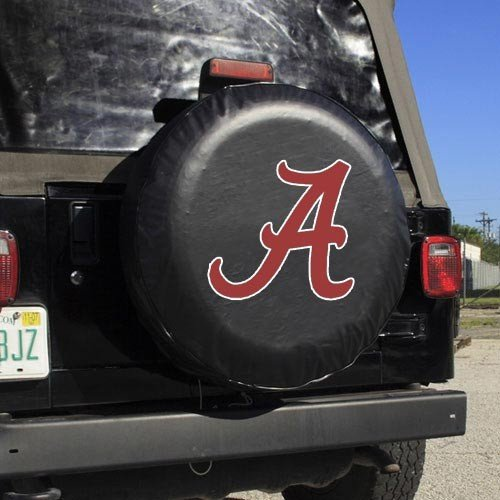 Alabama Crimson Tide Official NCAA 13 inch x 11 inch Tire Cover Standard Size by Fremont Die 584012 Alabama Crimson Tide Tire Cover