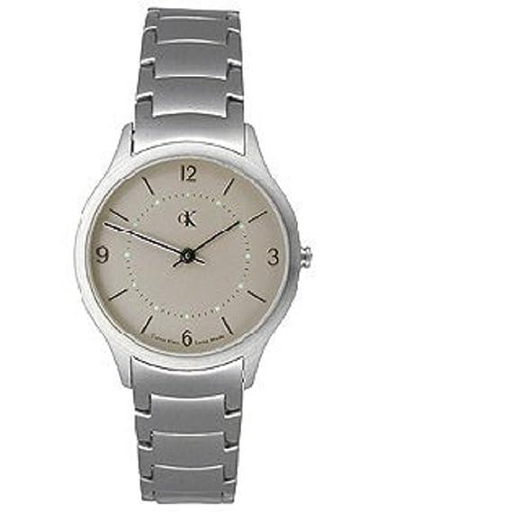 Reloj Calvin Klein para Mujer Esfera Gris Correa de Acero