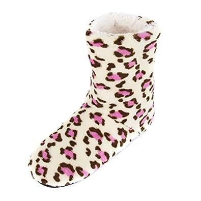 Amazon.com | Leisureland Women's Fleece Lined Bootie