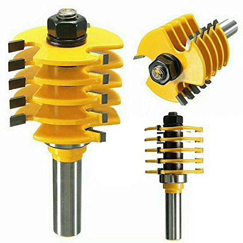 Your Supermart 1/2?Shank Splicing Puzzle Gong Floor Knife Router Bit Woodwork Cutter Tool by Your Supermart (Image #1)