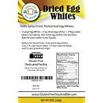 Judee's Dried Egg White Protein 8 oz - Baking, Meringue, Royal Icing, Smoothies. 4g Protein per Serving, Non GMO, USA… 9 1/2lb (8 Oz) of 100% Pure, Non-GMO Dried Pasteurized Egg White Protein Powder. USDA Certified, Humanely Produced from UEP certified egg farmers in the USA No additives, only 1 ingredient; Egg whites. Produced from the freshest eggs less than 30 days old Low Cholesterol Substitute for eggs in cooking and baking. Keto Friendly Protein Powder for Smoothies