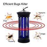 Bug Zapper Mosquito Killer - Mosquito Trap Mosquito Killer Lamp Amazon Hot Cake Non-toxic LED Insect Pest Bug Mosquito Zapper Repellent Trap Repeller with Hook for Indoor Use