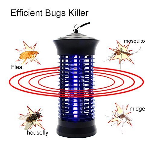 Lamp Repellent Mosquito (Bug Zapper Mosquito Killer - Mosquito Trap Mosquito Killer Lamp Amazon Hot Cake Non-toxic LED Insect Pest Bug Mosquito Zapper Repellent Trap Repeller with Hook for Indoor Use, by Fomei)