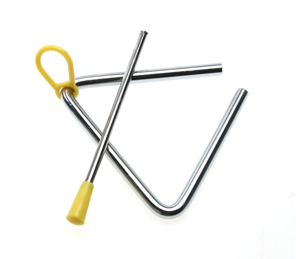 Weimay Musical Triangle Educational Musical Instrument Toy for Baby Kids Children Musical Toys, 1pc