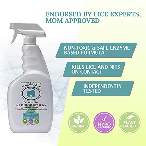 Licelogic Household Natural Enzyme Based Lice Spray For Furniture