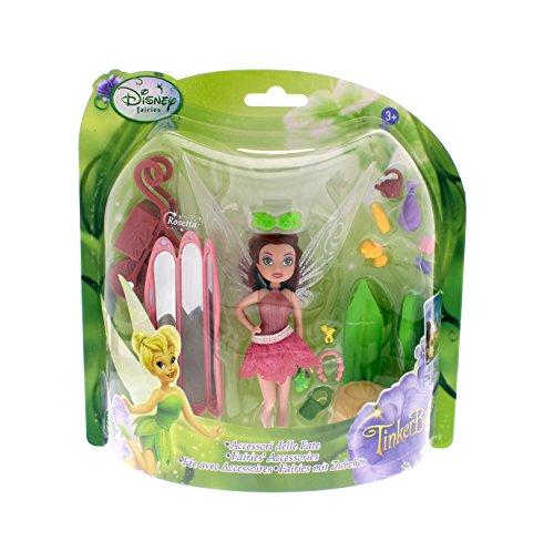 Disney Fairies Feen Puppen 10cm mit Zubehör (Rosetta)