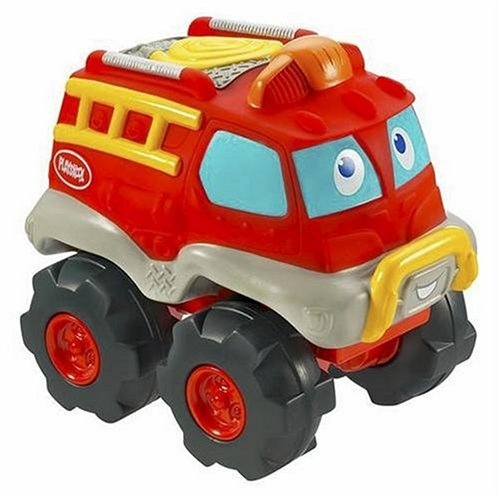 Hasbro Playskool Cushy Cruisin Fire Truck