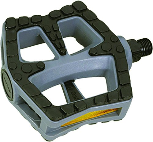 Pedals Barefoot (Action Barefoot Nylon 1/2 Gray/Black Pedals)