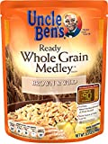 uncle ben brown rice - UNCLE BEN'S Ready Whole Grain Medley: Brown & Wild, 8.5 oz
