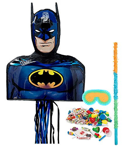 BirthdayExpress Batman Party Supplies - Pinata Kit by BirthdayExpress