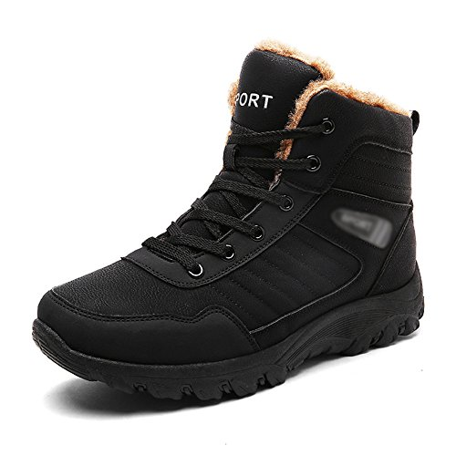 Men's Shoes Feifei PU Material Movement Leisure Winter Thickening Keep Warm 01