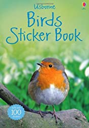 Birds Sticker Book (Usborne Spotters' Sticker Guides)