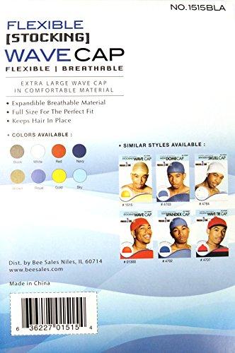 12pk Magic Collection Flexible Breathable Stocking Wave Cap