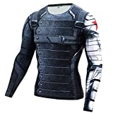 HOOLAZA Winter Soldier Captain America Long Sleeve
