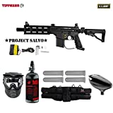 MAddog Tippmann U.S. Army Project Salvo Starter HPA Paintball Gun Package – Black Review